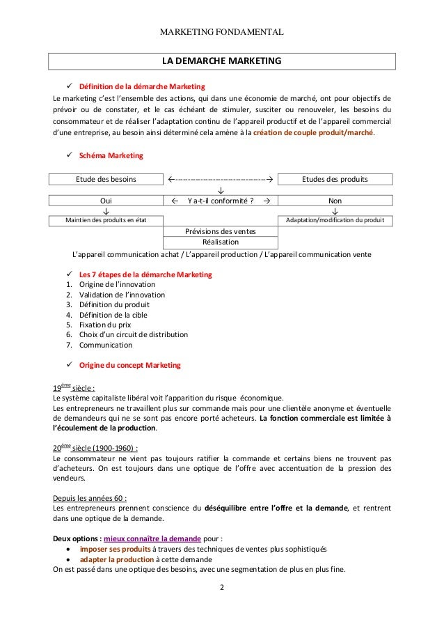 MARKETING FONDAMENTAL   LADEMARCHEMARKETING  DéfinitiondeladémarcheMarketing Lemarketingc'estl'ensembledesa...