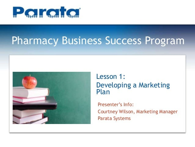 How to Write a Pharmacy Business Plan