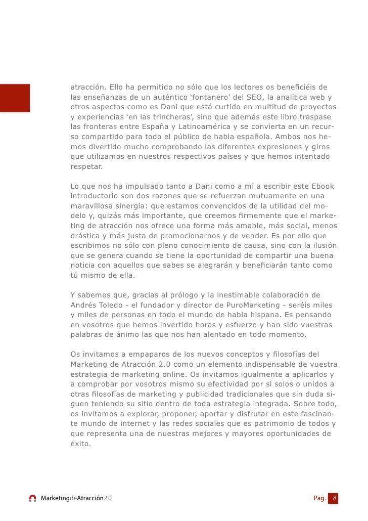 Introducción:El Marketing de Atracción 2.0                                                  Oscar Del Santo      Nadie pu...