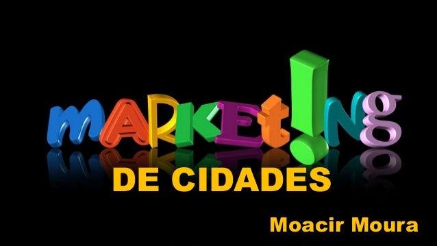 Layout do título SUBTÍTULO DE CIDADES Moacir Moura