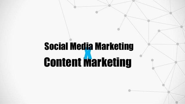Content Marketing x Social Media Marketing