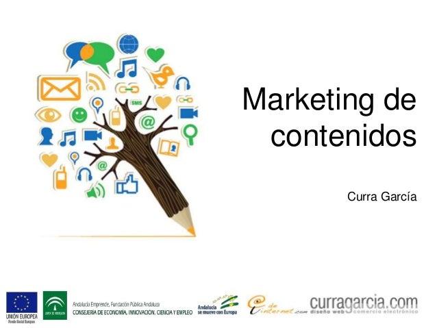 Marketing de contenidos Curra García