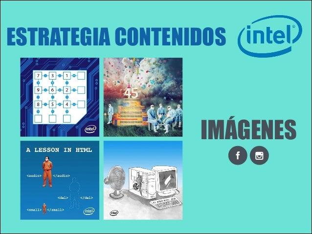 ESTRATEGIA CONTENIDOS  IMÁGENES