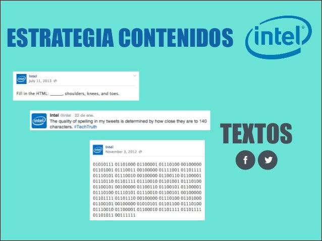 ESTRATEGIA CONTENIDOS  TEXTOS