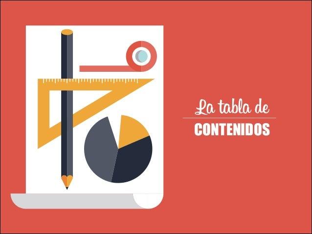TEXTOS VÍDEOS  La tabla de  CONTENIDOS