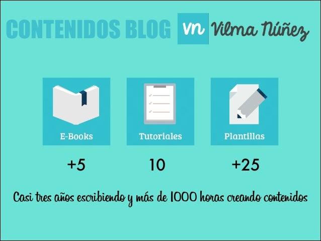 CONTENIDOS BLOG  +5  10  +25  Casi tres años escribiendo y más de 1000 horas creando contenidos
