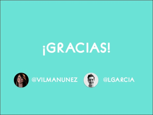 ¡GRACIAS! @VILMANUNEZ  @LGARCIA