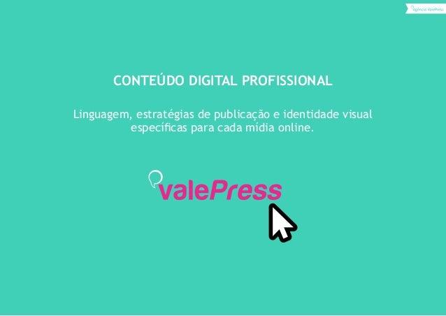 Marketing de conteúdo digital ValePress Slide 2