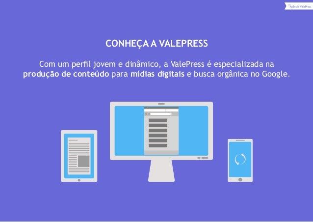 Marketing de conteúdo digital ValePress Slide 3