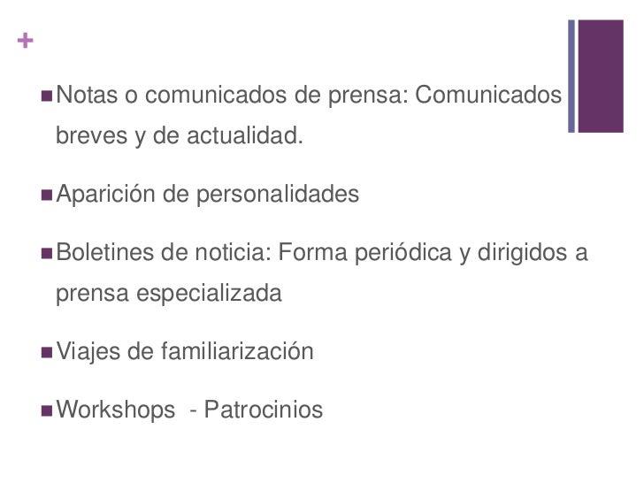 Pagina Web www.colombia.travel.com<br />Correo directo<br />Televisión<br />Radio<br />CD interactivo<br />