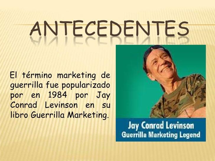 Marketing de guerrilla Slide 2