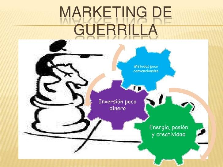 Marketing de guerrilla Slide 3