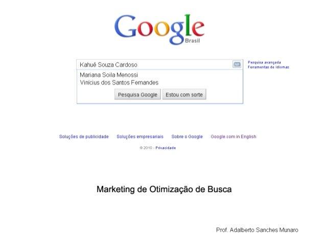 Marketing de Otimização de Busca