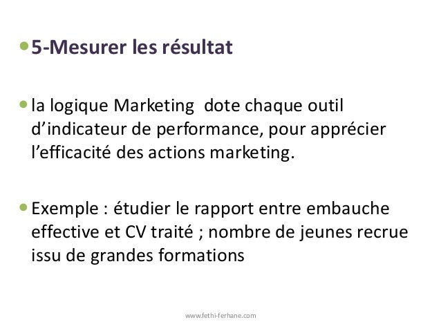 marketing des ressources humaines par fethi ferhane