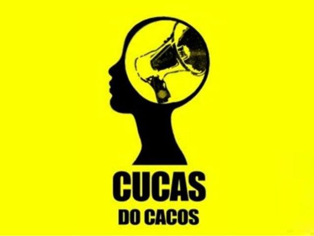 A página CUCAS DO CACOS foiescolhida pela proximidade das eleiçõesestudantis, onde se ganhasse conseguiriauma reeleição in...