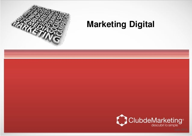 Marketing Digital Julio 2013