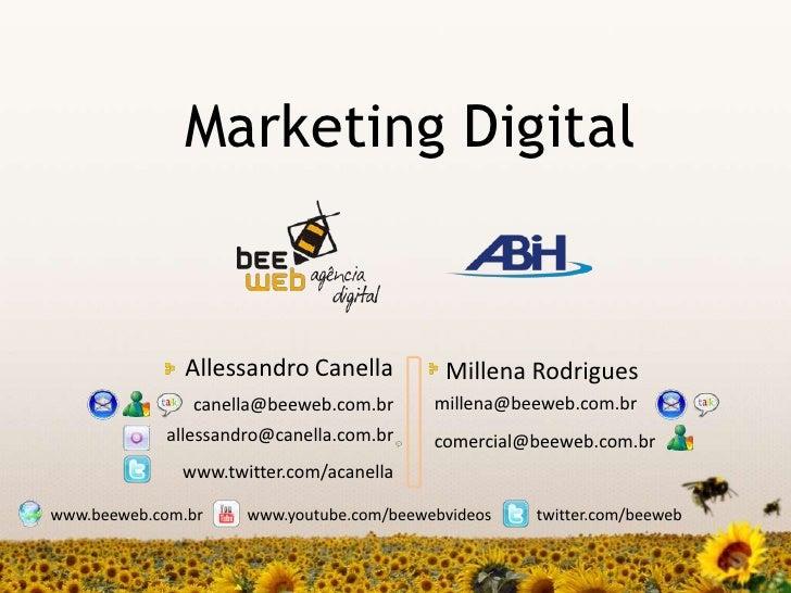 Marketing Digital                 Allessandro Canella          Millena Rodrigues                                          ...