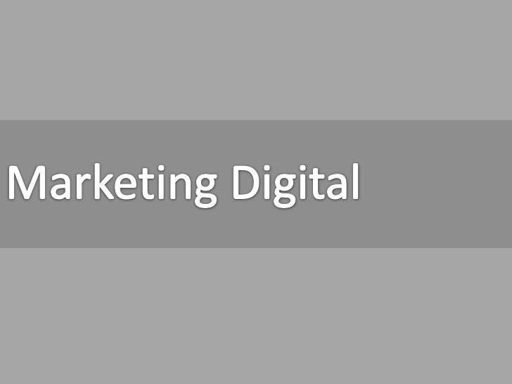 Marketing Digital<br />
