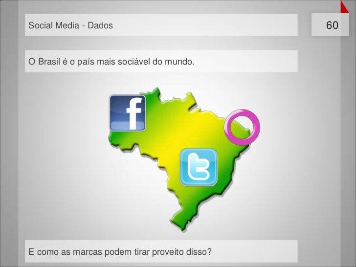 Social Media - Dados                           60O Brasil é o país mais sociável do mundo.E como as marcas podem tirar pro...