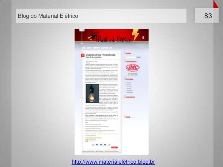 Blog do Material Elétrico                                   83                      http://www.materialeletrico.blog.br