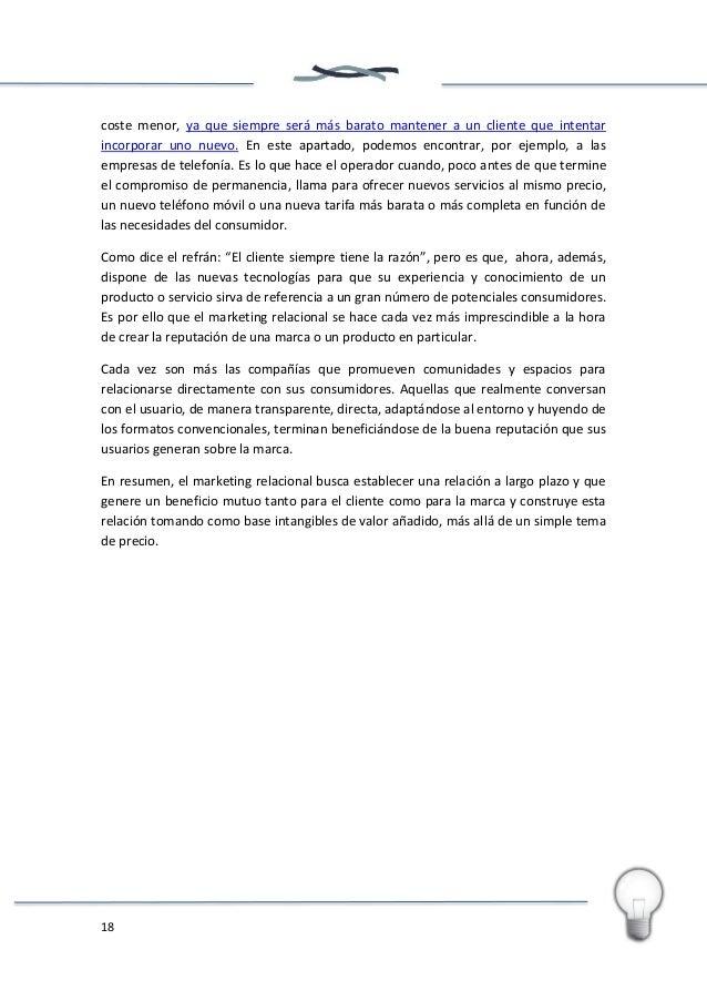 19 5. El papel de las redes sociales en el marketing de producto online: Social Media Marketing Hace poco, en un congreso ...