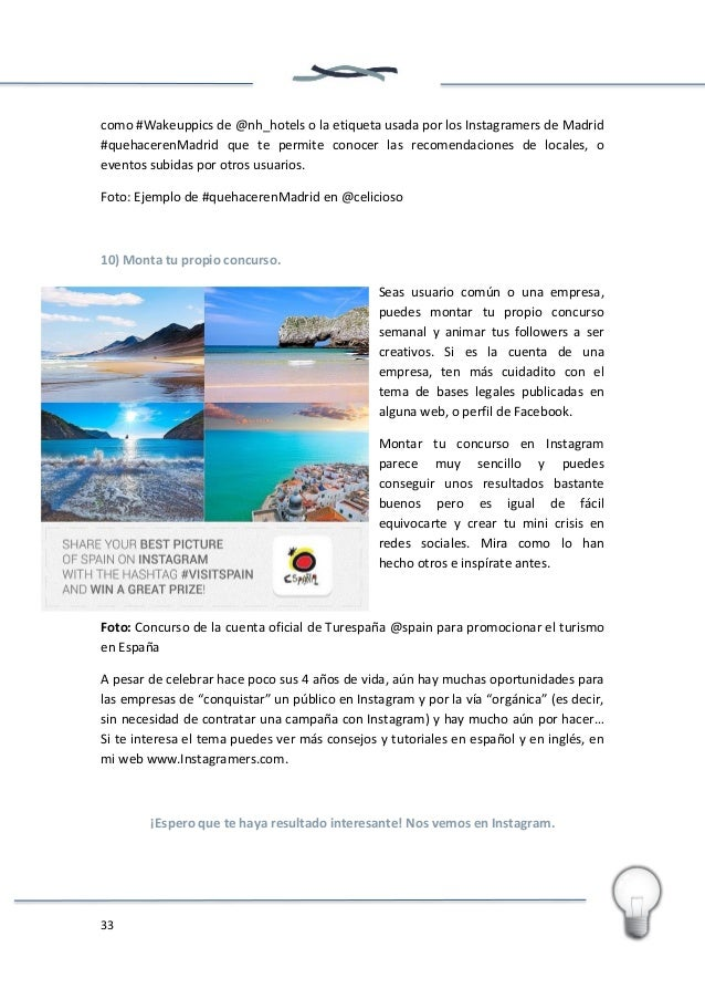 34 Diez buenas prácticas de marketing de producto en Instagram Philippe González Fundador de Instagramers @PhilGonzalez Ín...