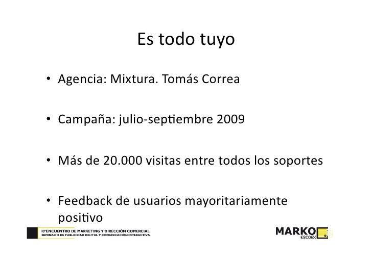 Clipping                               15mileuros.com∙100DIASON‐LINE  Profesionales de marketing en blogs Nacionales ...
