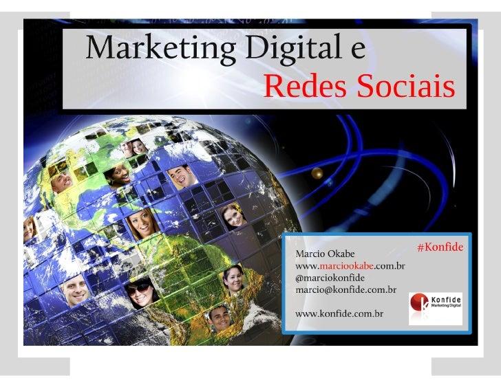 Marketing Digital e Redes Sociais Slide 2