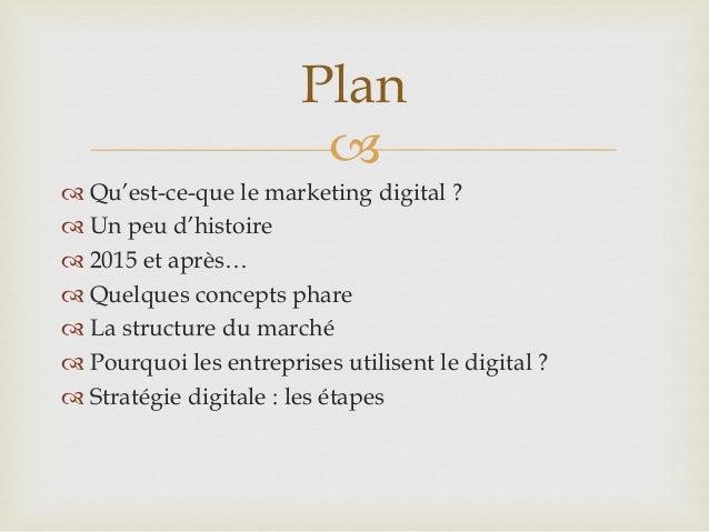 Marketing digital, lesfondamentaux Slide 2