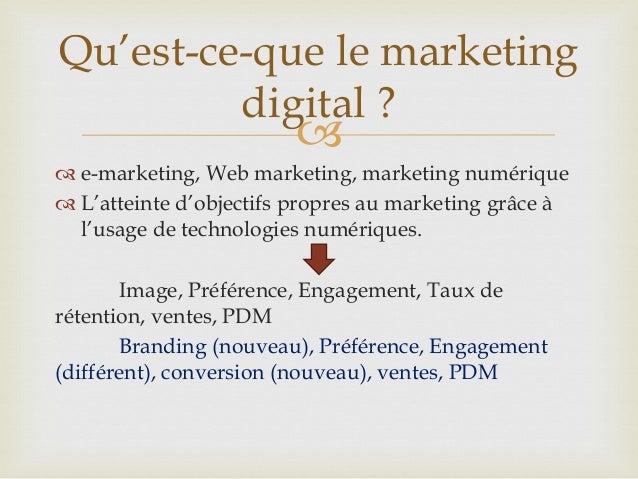 Marketing digital, lesfondamentaux Slide 3