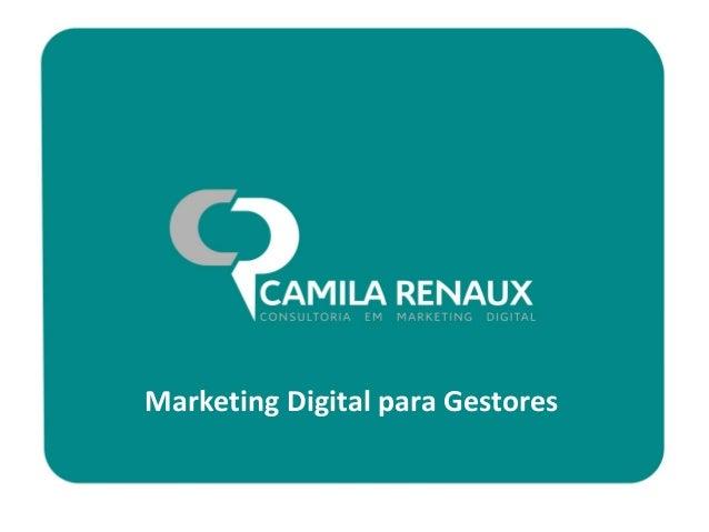 Marketing Digital para Gestores