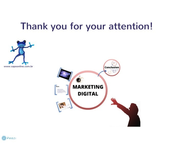Marketing digital prezi