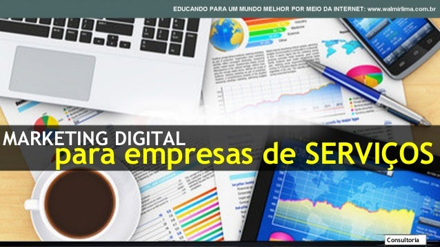 MARKETING DIGITAL    para empresas de SERVIÇOS                         Consultoria