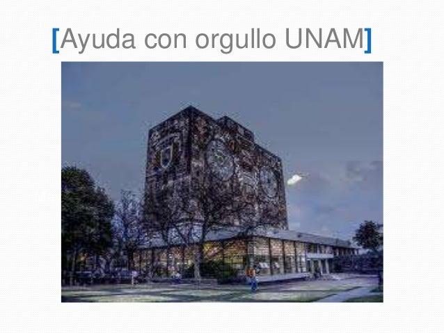 Mayo 2014 [Ayuda con orgullo UNAM]