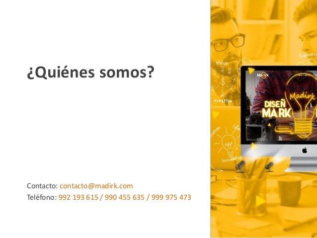Marketing Digital y Social Media Slide 3