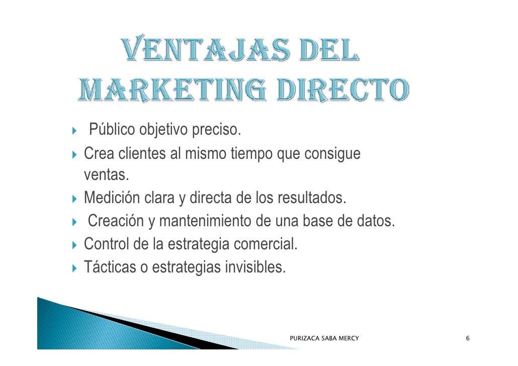 Público objetivo preciso. Crea clientes al mismo tiempo que consigue ventas. Medición clara y directa de los resultados.  ...
