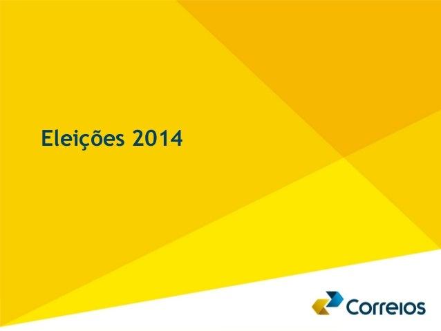 1  Eleições 2014