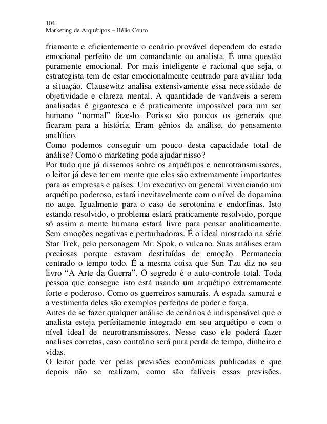 Marketing e arquétipos e book