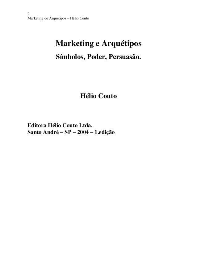 Marketing e arquétipos e book Slide 2