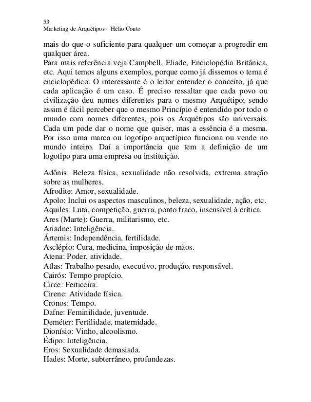53 Marketing de Arquétipos – Hélio Couto mais do que o suficiente para qualquer um começar a progredir em qualquer área. P...