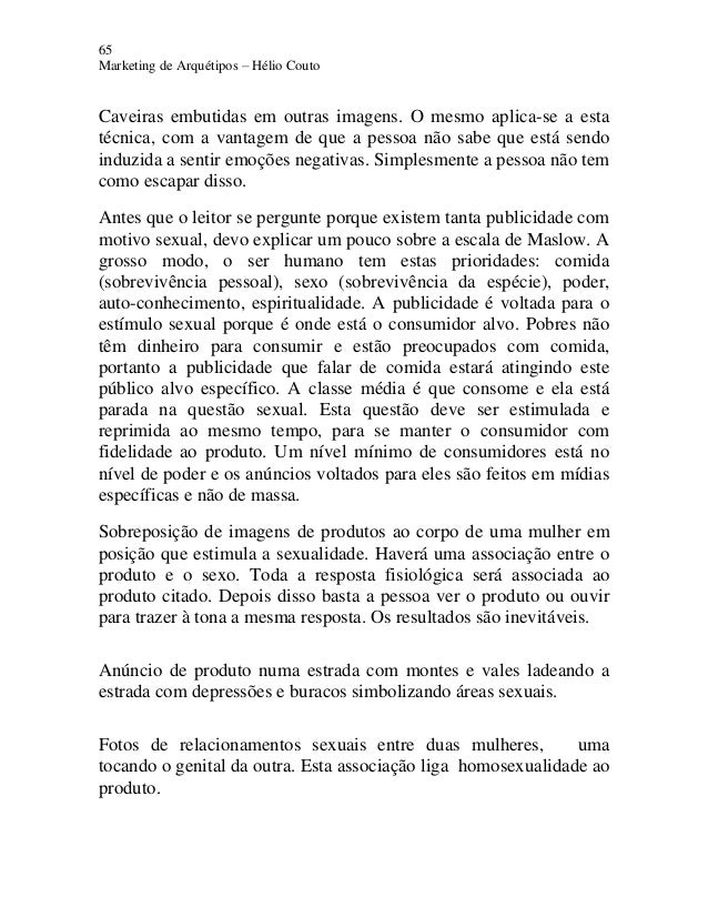 65 Marketing de Arquétipos – Hélio Couto Caveiras embutidas em outras imagens. O mesmo aplica-se a esta técnica, com a van...