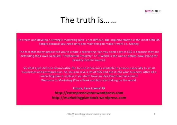 Marketing Plan Breakthrough_S6PEC Framework Slide 2