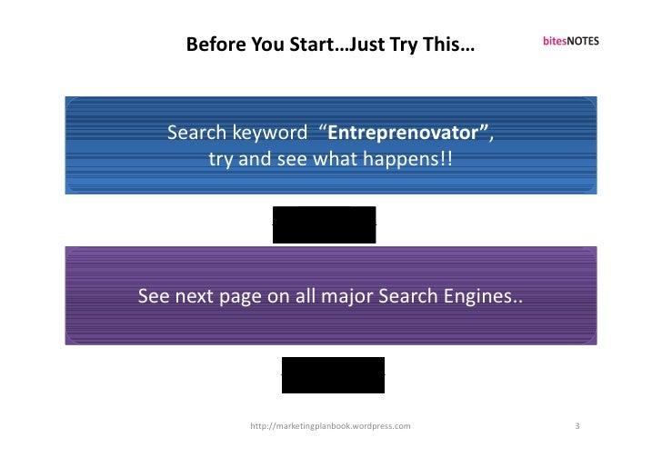 Marketing Plan Breakthrough_S6PEC Framework Slide 3