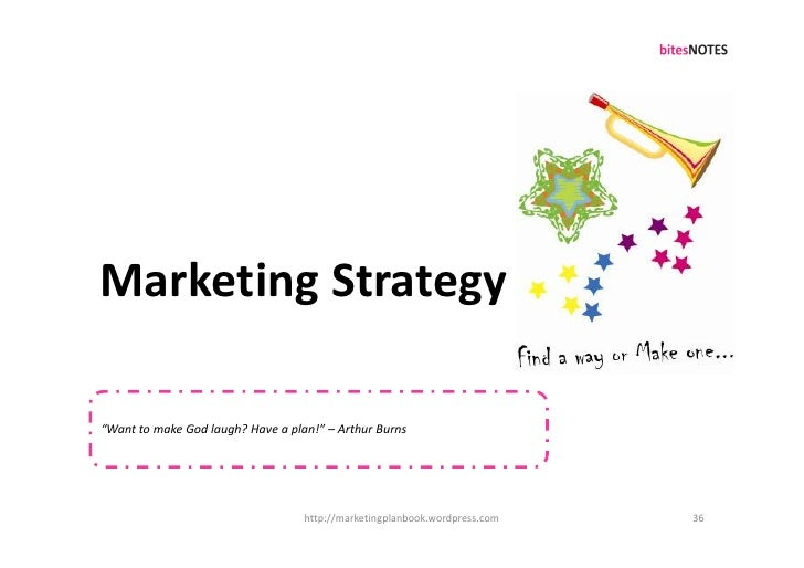 """Marketing Strategy  """"Want to make God laugh? Have a plan!"""" – Arthur Burns                                        http://ma..."""