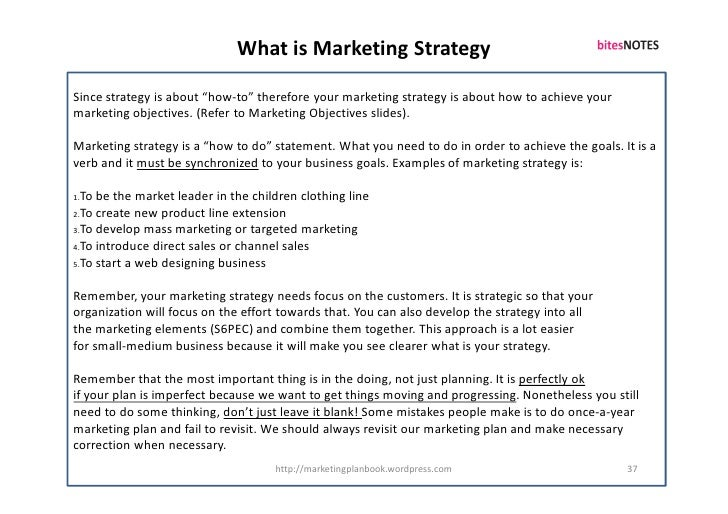"""What is Marketing Strategy  Since strategy is about """"how-to"""" therefore your marketing strategy is about how to achieve you..."""