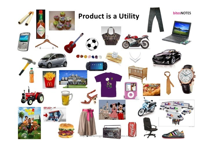 Product is a Utility     http://marketingplanbook.wordpress.com   62