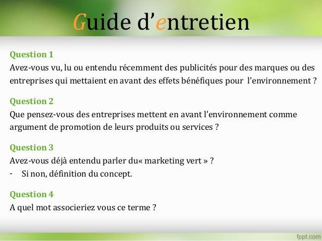 Marketing écologique