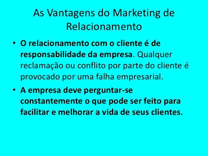 Marketing em empresas de serviços