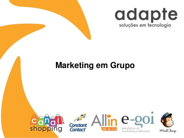Marketing em Grupo