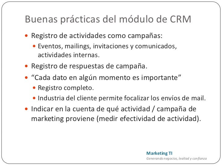 Marketing En Dynamics Crm